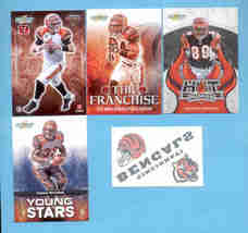 2008 Score Cincinnati Bengals Master Football Team Set  - $6.00