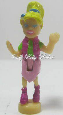 2002 Polly Pocket Dolls  Butterfly Ride - Polly