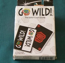 Go Wild Card Game Wizards Of The Coast 1998 Complete Clean - $9.00