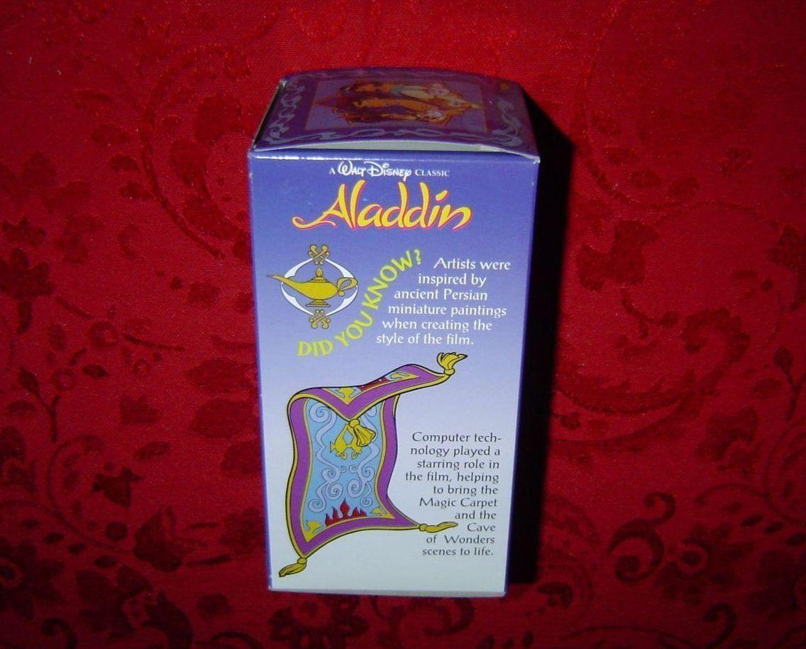 Burger King Aladdin collector glass 1994 Coca-Cola plastic