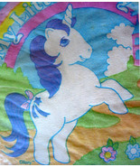 VINTAGE My Little Pony UNICORN Horse PAPER NAPKINS 1984 Glory MLP Decoup... - $9.89