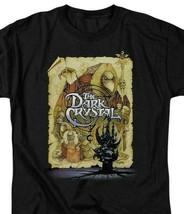 Dark Crystal Movie Poster T Shirt Jim Henson retro fantasy film black tee DKC100 image 2