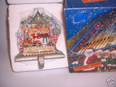 Radio City Music Hall Christmas Spectacular MR MRS Claus Stocking Hanger Mantel
