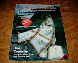 Plaid Stenciled Crochet Afghans Book 7800  - $5.00