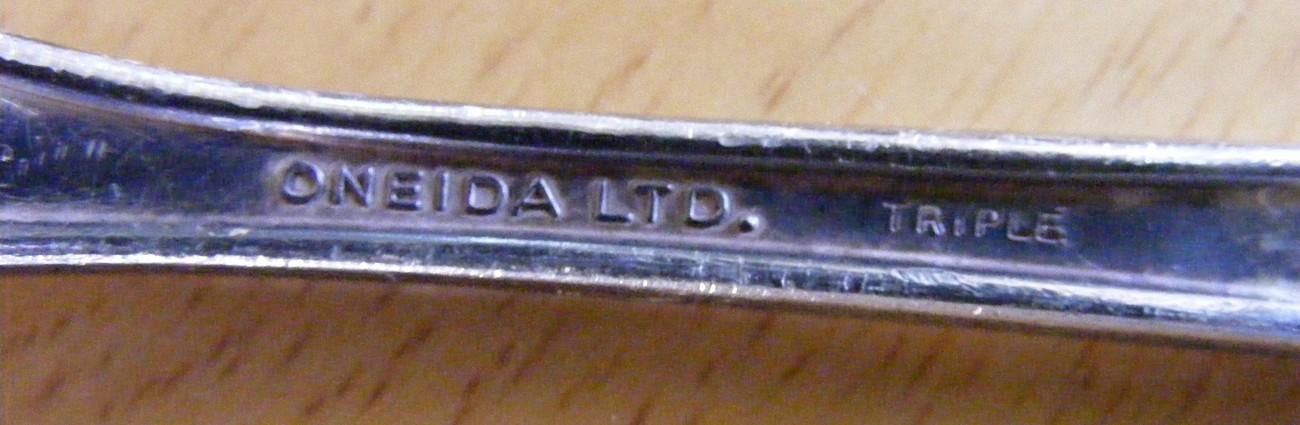 The Warwick Oneida Ltd. vintage silverplate forks