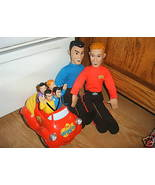Set Of 4 WIGGLES Anthony 2 Murray Dolls Musical four guys in the Big Red... - $49.97