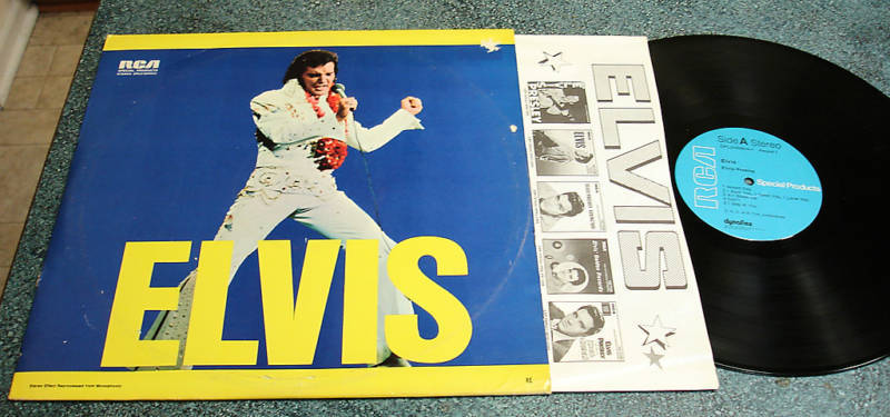 ELVIS PRESLEY 1978 Mail Order 2 LP Self Titled w/ Inner