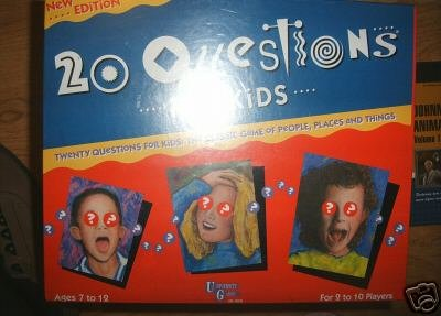20 QUESTIONS FOR KIDS GAME PERSON PLACE THING YEAR NEW