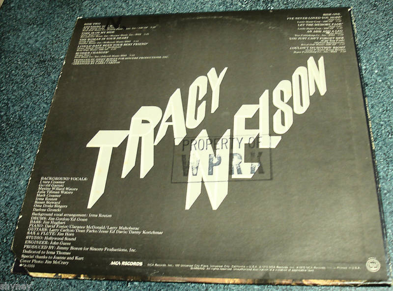 TRACY NELSON 1976 LP Time Is On My Side MOTHER EARTH