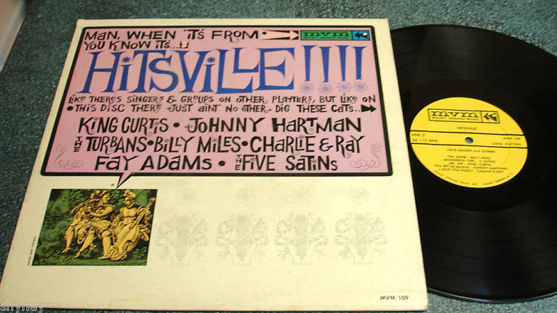 HITSVILLE LP Turbans/Five Satins/Johnny Hartman/King Curtis/Billy Miles/Fay Adam
