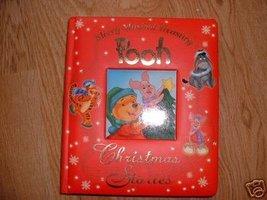 MERRY MUSCIAL TREASURY POOH CHRISTMAS STORIES MUSIC BOX - $10.77
