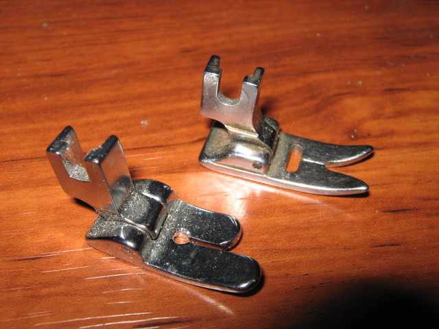 Primary image for Pair Low Shank Sears Type Presser Feet Zig Zag & Straight Stitch