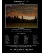 California Pines Artist Albert Bierstadt 1995 AD Art Gallery Advertisement - $14.99