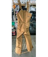 Premium Insulated Overalls, Dickies, Regular Brown Duck - $72.00