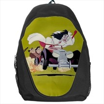 backpack cruella de vil 101 dalmatians - $39.79