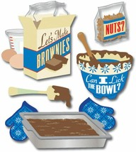Jolee's Boutique Brownies Dimensional Sticker Set