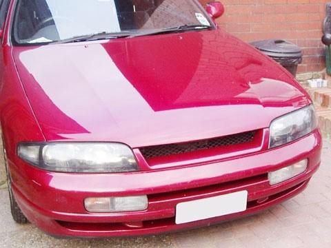 Sport Mesh Grill Grille Fits JDM Nissan Skyline 94-96 1994-1996 R33 Series 1 GTS