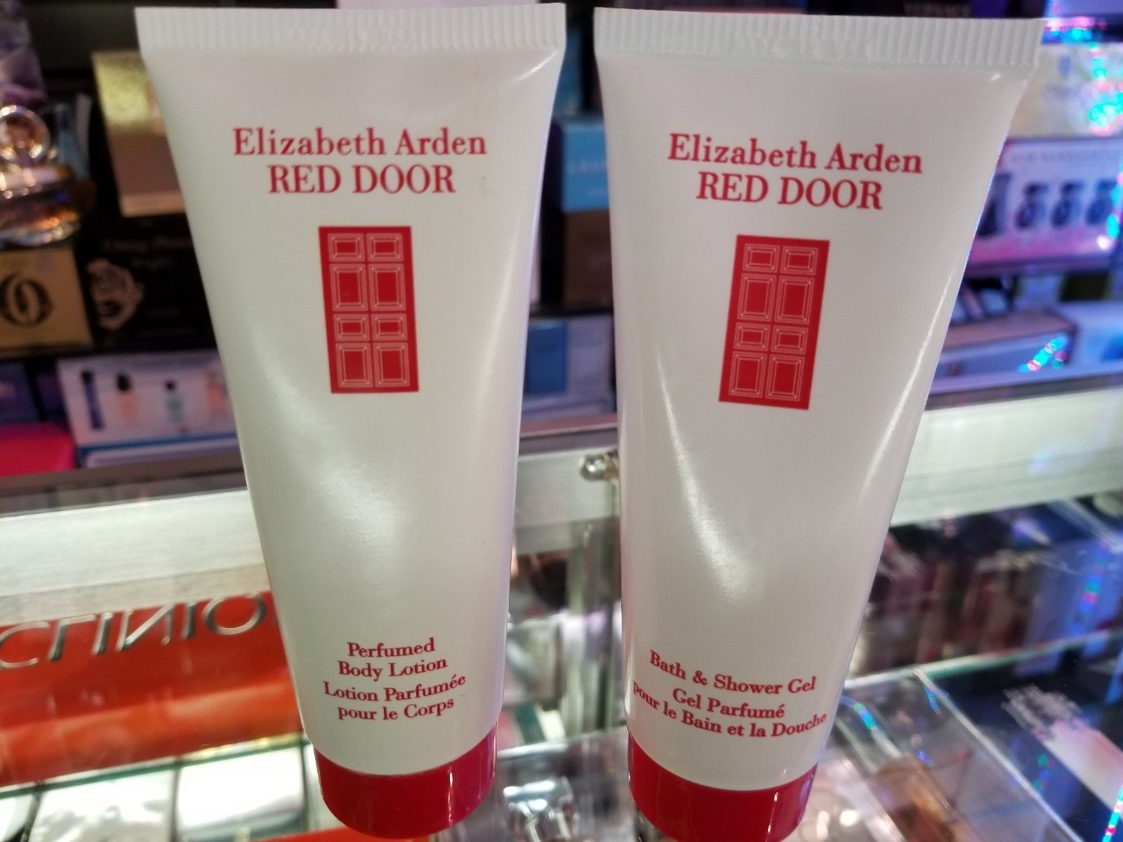Primary image for RED DOOR by Elizabeth Arden 3.3 oz 100 ml Body Lotion + Shower Gel for Her * NEW