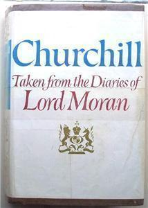 1966 (Winston) Churchill, Diaries of Lord Moran, HC DJ