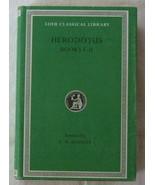 Herodotus I: The Persian Wars, Books I-II (Loeb Classical Library 117)  - $17.75