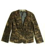 Leopard  velvety Jacket M/L  - $24.50