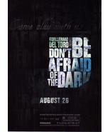 DON'T BE AFRAID OF THE DARK Movie Promo Card  - $1.95