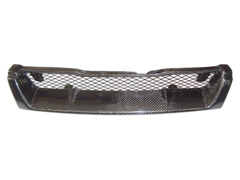 Carbon Fiber Grill Grille Fits Nissan Skyline 94-96 1994-1996 R33 Series 1 GTS