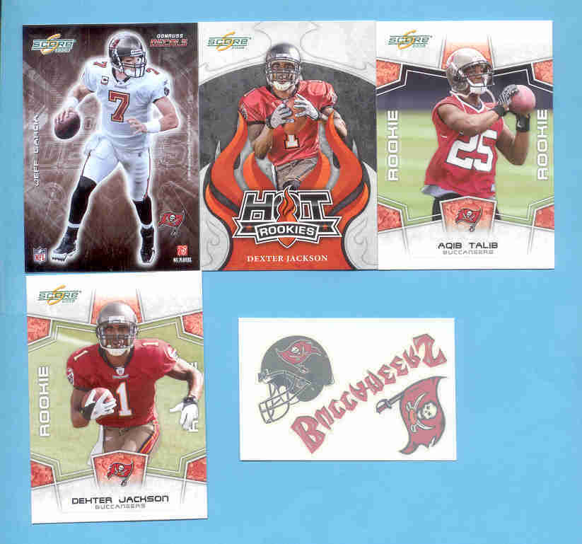 2008 Score Tampa Bay Buccaneers Master Football Set