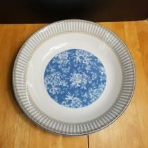 Royal Doulton Provence Bleu Pasta Serving Bowl 13 Inch Blue Flowers - $24.75
