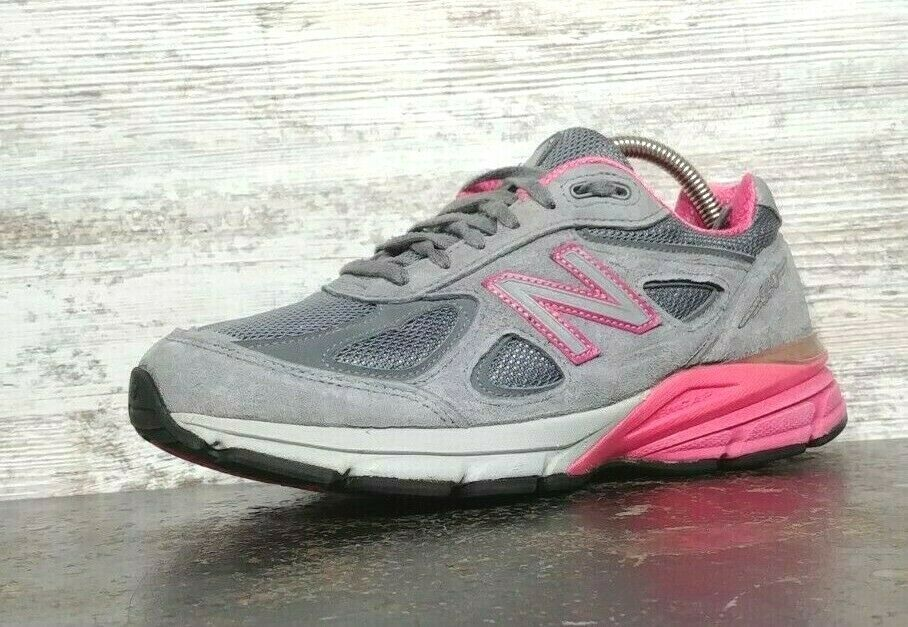 Womens New Balance 990 V3 Running Shoes SZ 7 D Wide Used Sneakers Trainers