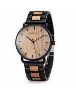 Men Quartz Watch Casual Wood Luxury Brand Wristwatch Male Simple Ultra-t... - $41.99