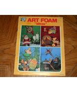 Hazel Pearsons Art Foam Ideas Craft Book - $5.00