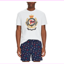 Polo Ralph Lauren Graphic Classic-Fit Cotton Jersey Tee, White, XLT - $44.82