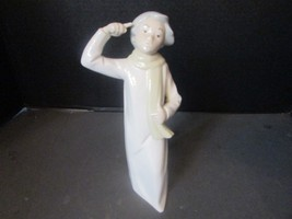"""VTG REX VALENCIA FIGURINE MADE IN SPAIN 9.25"""" #125 YOUNG GIRL WITH SCARF... - $14.95"""