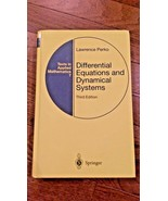 Differential Equations and Dynamical Systems 3rd Edition Lawrence Perko - $69.99