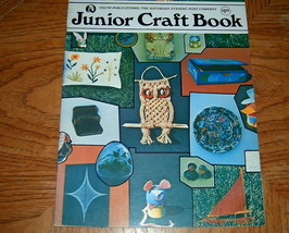 Junior Craft Book Saturday Evening Post - $5.50