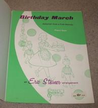 Birthday March Sheet Music - 1965 - Piano Solo - $7.99