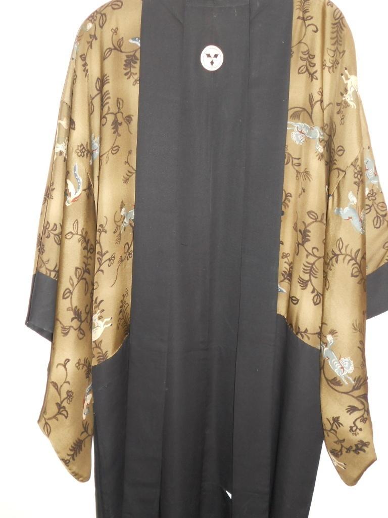 Kimono Vintage silk Short
