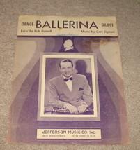 Dance Ballerina Dance Sheet Music - 1947  Jimmy Dorsey - $7.99