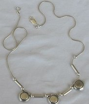 3 parts A necklace - $35.00