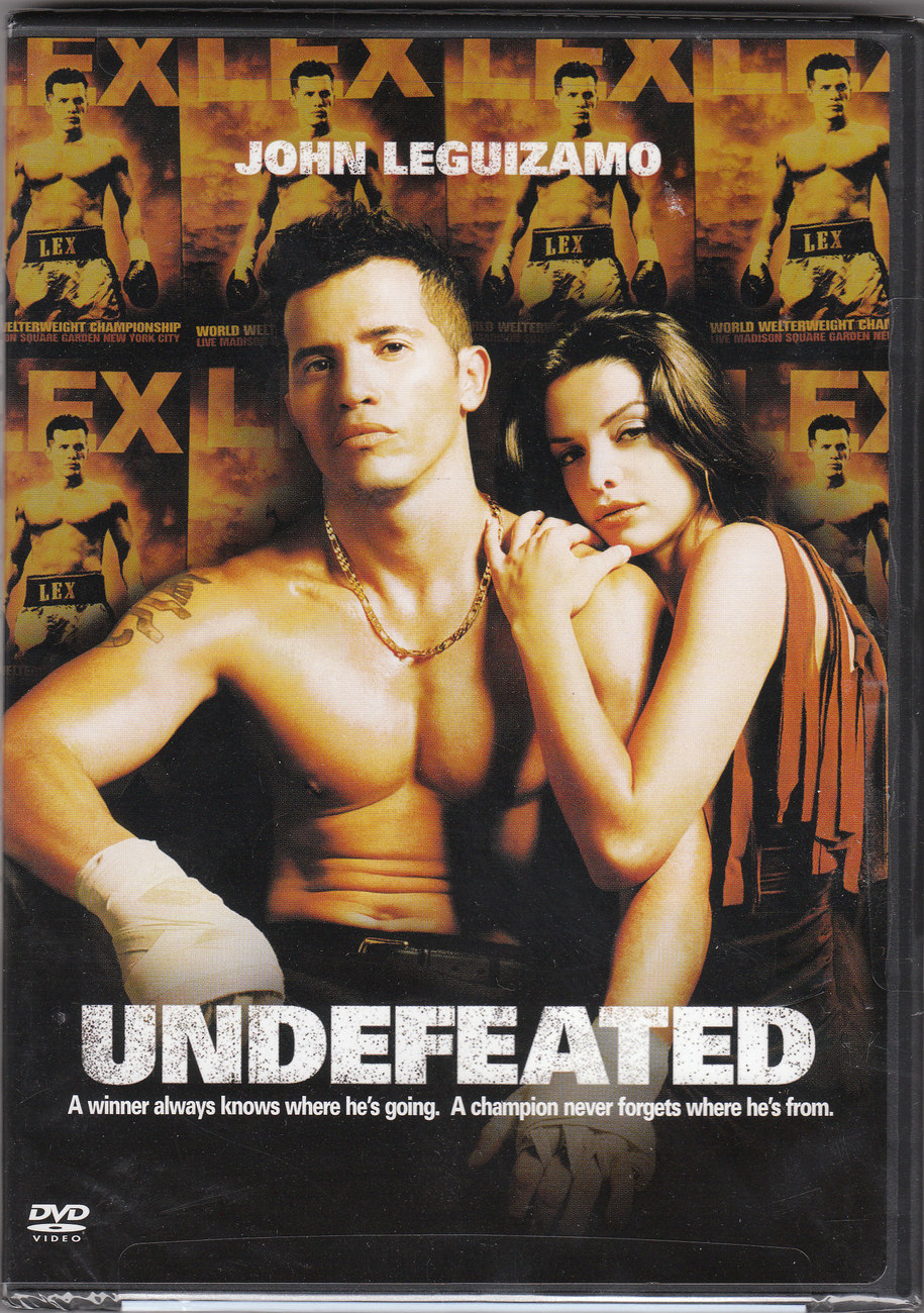 UNDEFEATED-HBO Films sealed DVD john leguizamo