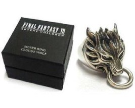 Final Fantasy VII Cloud Silver Ring Japan Size 15 (17.7mm) New Unused A31 - $839.99