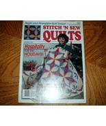 Stitch n Sew Quilts December 1989 Vol 9 No 6 - $3.00