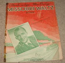 Hush-a-bye Ma Baby Missouri Waltz Sheet Music - 1941    - $7.99