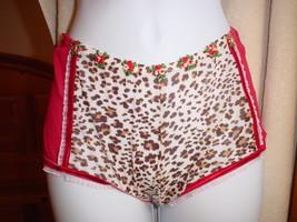 Victorias Secret Leopard Boyshort XSmall/Small/Medium NWOT - $13.99