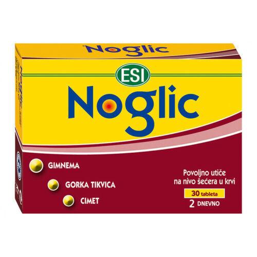 ESI NOGLIC 30 TABLETS - useful to rebalance glucose and lipid metabolism - $29.00