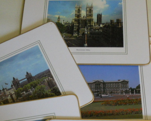 London Scenes Table PlaceMats