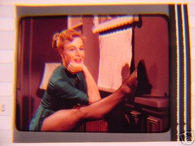 Marge Champion vintage 35mm film cell transparency