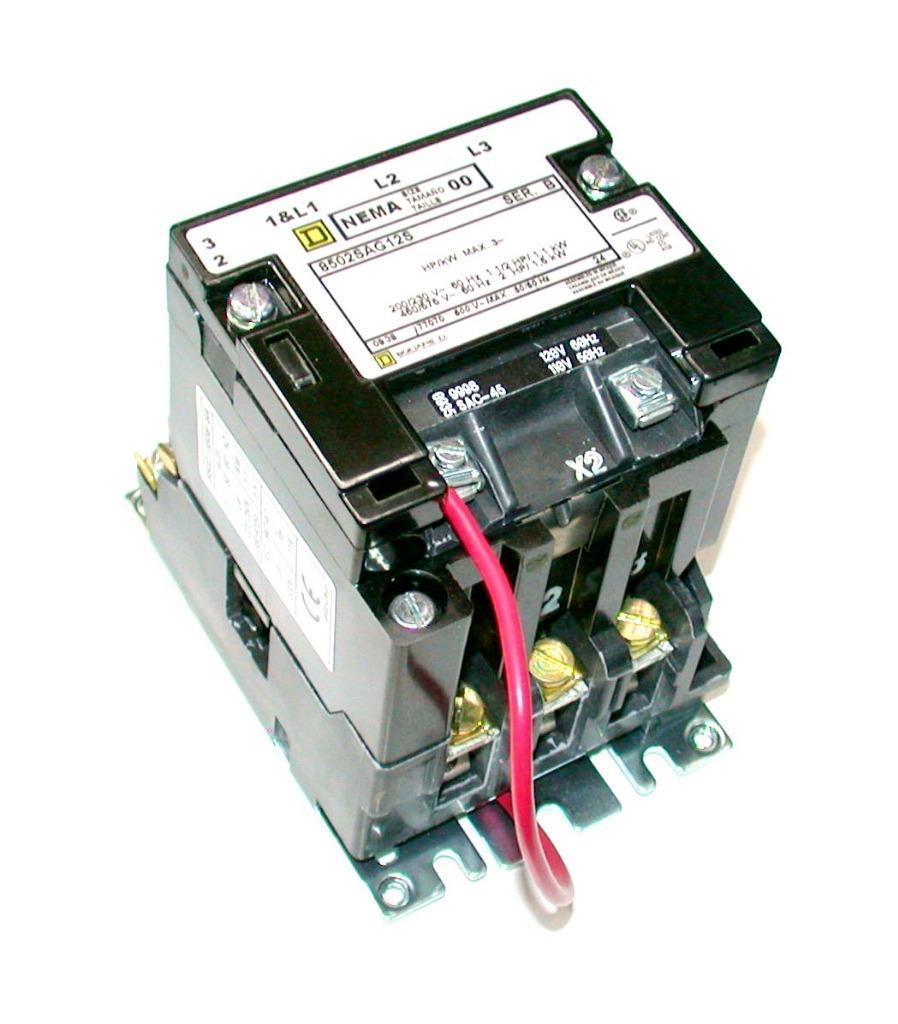 Nema 3 Phase Contactor Wiring