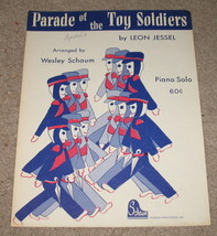 Parade of the Toy Soldiers Sheet Music Piano Solo - 1962    - $8.45